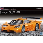 1/24 AOSHIMA McLaren F1 GTR 1997 Pre-season Testing/Long Tail (Overseas Edition)