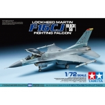 1/72 Lockheed Martin F-16CJ Block 50 Fighting Falcon TAMIYA