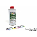 Zero Paints Basecoat Thinner 250ml