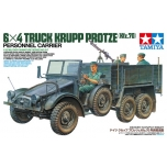 1/35 German 6x4 Truck Krupp Protze - w/Three Figures TAMIYA