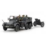 1/48 TAMIYA German 6x4 Towing Truck Kfz.69 - w/3.7cm Pak