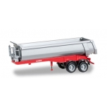 1/87 Carnehl dump trailer 2-axle, red Herpa