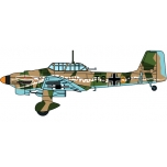 "1/72 Junkers Ju87 Stuka - 6/StG 2 ""Immelmann"", Libya 1941 Oxford Aviation"