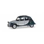 1/87 Citroen 2 CV Charleston, light gray / dark gray HERPA