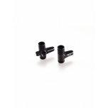Revolution Design B64 Aluminium Steering Bellcrank Set (black)