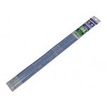 Tamiya läbipaistvad plastik H-profiilvardad 3mm 5tk modeleerimiseks
