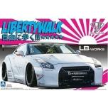 1/24 AOSHIMA Nissan R35 GTR  Libery walk