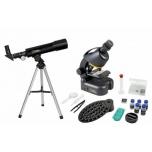 NATIONAL GEOGRAPHIC Teleskoobi ja Mikroskoobi komplekt kohvris