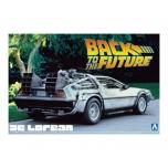 1/24 AOSHIMA Delorean Dmc Back To The Future 1