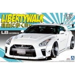 1/24 AOSHIMA R35 GT-R Liberty Walk No.11 LB Works  Type 1.5