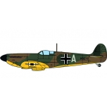 1/72 Spitfire MK.I - Luftwaffe captured aircraft Oxford Models