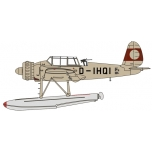 1/72 Arado AR196 D-IHQI Prototype 1938 (without Swastika) Oxford Aviation