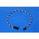 Servo wire extension 45 cm FUTABA - 0,33mm2 22AWG - twisted
