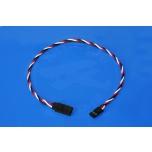 Servo wire extension 90 cm FUTABA - 0,33mm2 22AWG - twisted