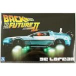 1/24 AOSHIMA Delorean Dmc Back To The Future 2