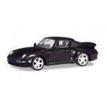 1/87 HERPA Porsche 911 Turbo (993), arena punane metallik
