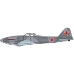 "1/72 108th Guards Assault Aviation Regiment, Germany 1945 Ilyushin Il-10 ""Beast"" Oxford Aviation"