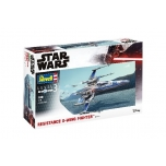 1/50 REVELL RESISTANCE X-WING FIGHTER