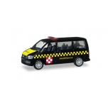 "1/87 Herpa VW T6 Multivan ""Fraport Safetycar"""