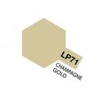 Tamiya värv LP-71 šampanja kuldne
