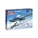 1/72 Italeri HEINKEL HE 111H - BATTLE OF BRITAIN 80TH ANNI 1:72 HEINKEL HE 111H - BATTLE OF BRITAIN 80TH ANNI
