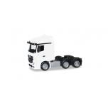 1/87 Mercedes-Benz Actros Streamspace 6x2 rigid tractor, white HERPA