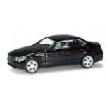 1/87 HERPA Mercedes-Benz C-Klasse Limousine Avantgarde, obsidian black metallic