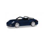 1/87 HERPA Porsche 911 Targa 4, night blue metallic