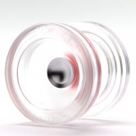 YO-YO WEDGE-TRANSPARENT-SILVER