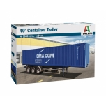 1/24 ITALERI 40' CONTAINER TRAILER