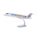 1/100 CRJ-200 Amaszonas Uruguay Snap-Fit