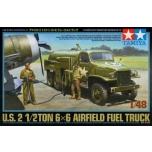 1/48 TAMIYA U.S. 2 1/2TON 6x6 Airfield Fuel Truck