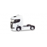 1/87 Scania CR 20 ND rigid tractor, white Herpa