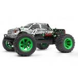1/10 MAVERICK QUANTUM MT FLUX 4WD MONSTER TRUCK - Hõbedane