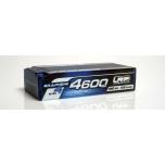LiPo aku 2S 4600mAh HV LCG Modified Shorty GRAPHENE-4 Hardcase battery - 120C/60C - 186g