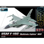 """1/72 ACADEMY USAF F-16C """"Multirole Fighter"""" Snap-Fit"""