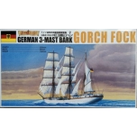 1/350 AOSHIMA German 3-Mast Bark Gorch Fock