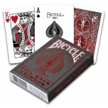 Poker cards Metallux Red Bicycle