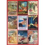"PUSLE ""Vintage Posters""  PIATNIK 1000TK"