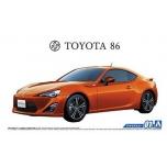 1/24 AOSHIMA Toyota 86 ZN6 2012