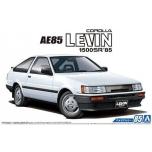 1/24 AOSHIMA Toyota AE85 Corolla Levin 1500SR 1985