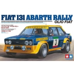 1/20 TAMIYA FIAT 131 ABARTH RALLY OLIO FIAT