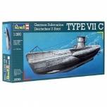 1/350 Revell German Submarine U-Boot Type VIIC