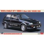 1/24 Hasegawa Toyota Starlet EP71 Turbo-S (3door) Early Version (1986)