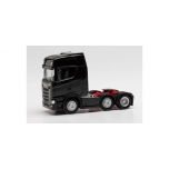 1/87 H0 Herpa Scania CS 20 HD 6x2 rigid tractor, black