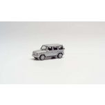 1/87 H0 Herpa Mercedes-Benz G-Klasse mit AMG-Felgen, with AMG rims, iridium silver metallic
