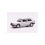 1/87 H0 Herpa  VW Golf II GTI with sport rims, white