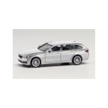 1/87 H0 Herpa  BMW 5er Touring, glacier silver metallic