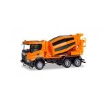 1/87 H0 Scania CG 17 6x6 concrete truck, municipal orange HERPA