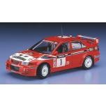 1/24 HASEGAWA Mitsubishi Lancer Evo 6 1999 WRC Champion